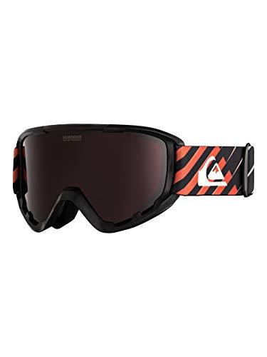 Quiksilver Herren Sherpa-Snowboard-/Skibrille für Männer, Poinciana gradientlineyth, 1SZ