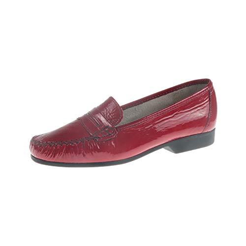 Luxat 366294504 Jorda Rouge - Zapatillas de tacón para mujer, color Rojo, talla 36 EU