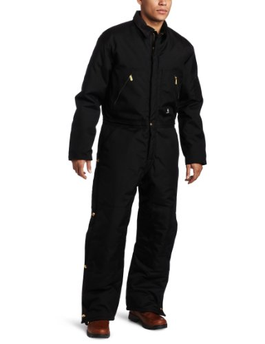 Carhartt Men's Arctic Quilt Lined Yukon Coveralls,Black,44 Tall