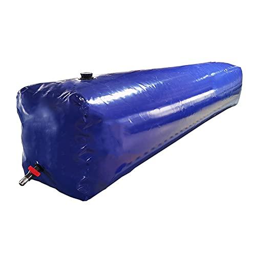 LSXIAO-Lonas Impermeables Exterior Barreras De Agua para Inundaciones, Cubo De Agua Plegable, Envase Plástico del Portador De Agua, con Grifo Y Tapa para Irrigar Plantas Transporte De Líquidos