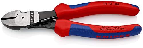 Knipex 74 12 180 SB - Alicates De Corte Diagonal