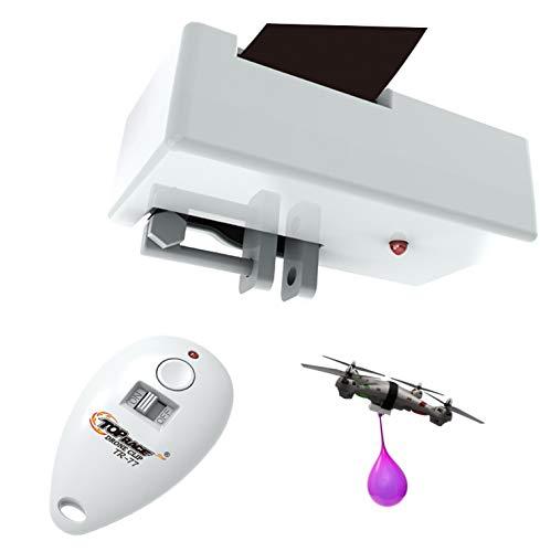 Top Race Clip di consegna per lanciatore di oggetti Clip per drone, dispositivo di lancio per drone, può contenere fino a 2 libbre e telecomando a 300 piedi di distanza TR-77