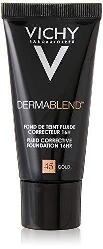 Vichy Dermablend Fondotinta Correttore, 45 Gold - 30 ml