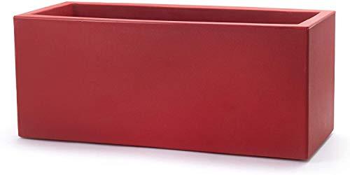 Teraplast Schio Jardinière Rouge Cardinal 100 cm