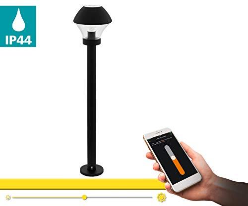 EGLO VERLUCCA-C Lámpara de pie E27, 9 W, Negro