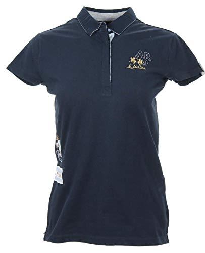 La Martina Damen Polo - Navy - Größe 2