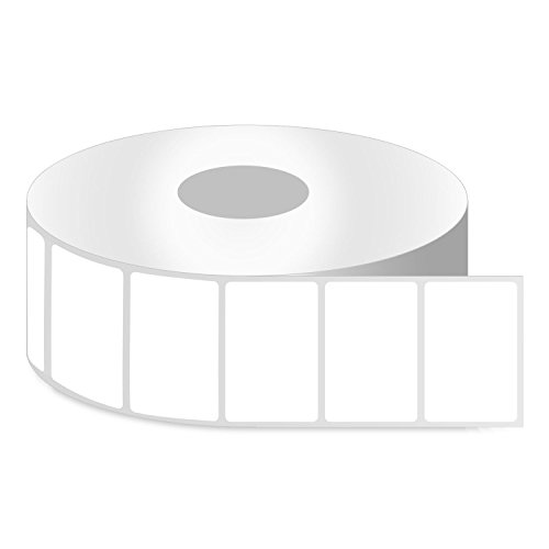 """OfficeSmartLabels ZE1115085 [ 1.25"""" x 0.85"""" ] Direct Thermal Labels, Compatible with Zebra Printers Postage Barcode Shipping Desktop Printer Sticker - 4 Rolls / 1"""" Core"""