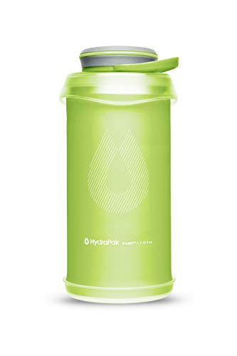 Hydrapak Stash - Collapsible BPA & PVC Free Hiking and Backpacking Water Bottle, 1 Liter