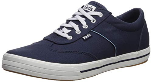Keds Women's COURTY CORE Canvas Sneaker, Navy, 8.5