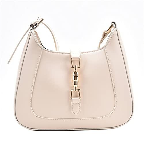 SeniorMar-UK Mode Einfarbig Luxus Geldbörsen Und Handtaschen Designer Leder Schulter Umhängetaschen Für Damen Mode Unterarm