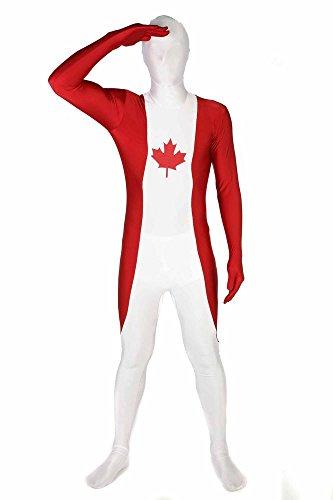 Morphsuits MFCA2 - Kostüm Kanada, XXL