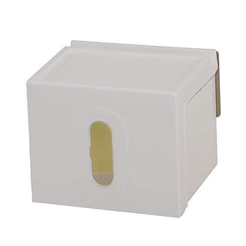Portarrollos de papel Inicio succión del papel del sostenedor de taza de toallas de baño caja de pañuelos bandeja libre de punzonado impermeable sostenedor de papel higiénico Toallero de Papel