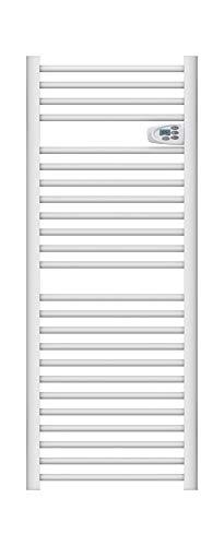 Toallero con barra redonda seca, 750 W, programable, color blanco