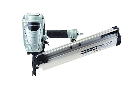 Metabo HPT Framing Nailer, The Pro Preferred Brand of Pneumatic Nailers, 21° Magazine, Accepts 2-Inch to 3-1/2-Inch...