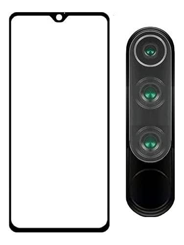 Kit Película Redmi Note 8 Pro 6.53 Pol. Vidro 3d Full + Câmera - (C7COMPANY)