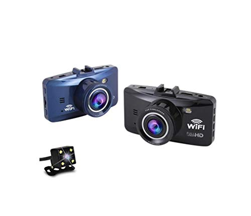 WiFi Téléphone Mobile De Contrôle sans Fil Dash Cam, 1080P Full HD Voiture Tableau De Bord Caméra 2,7\