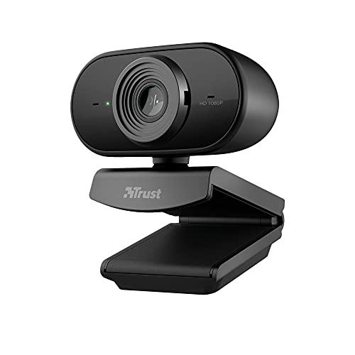 Scopri offerta per Trust Tolar Full HD 1080p Webcam, 2 Microfoni Integrati, Fuoco Fisso, 30 FPS, Riduzione del Rumore, USB Plug & Play, per PC/Laptop/Mac/Macbook, Hangouts, Meet, Skype, Teams - Nero