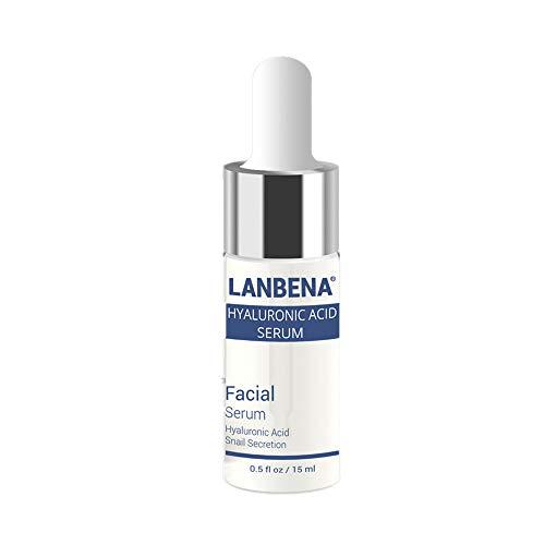 FORH Hyaluronsäure Serum für Gesicht Riesig 15 ml Beste Ant Aging Feuchtigkeitscreme für Haut - Facelifting Vitamin Serum Hyaluronic Flüssigkeit (A)