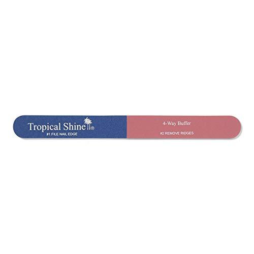 Tropical Shine 4-Way Large Nail Buffer