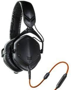 V MODA Crossfade M 100 Over Ear Noise Isolating Metal Headphone Matte Black Metal Headphones product image