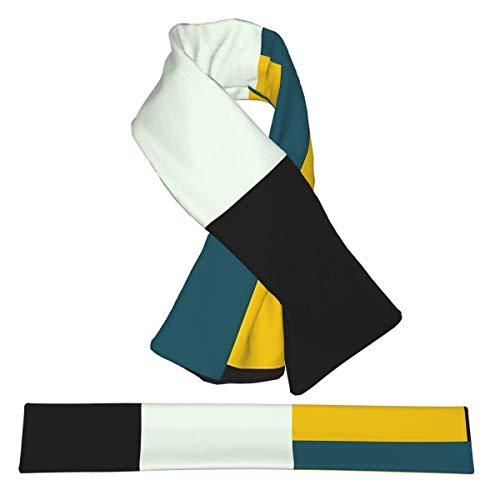 BAUHAUS AGE Flanell-Halstücher Plüsch doppelseitig weich leicht Wraps für Damen Herren und Jugendliche