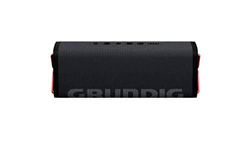Grundig GBT Club Black - Bluetooth Lautsprecher, 20 Meter Reichweite, mehr als 20 Std. Spielzeit
