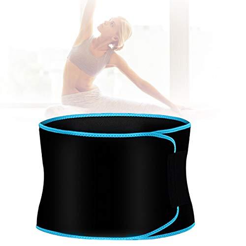 Estimulador Muscular, Cinturon Vibratorio Suave Cómodo, Alivia Dolor Espalda Cintura Adecuado para Correr, Yoga, Cuerda Batalla, Mancuernas