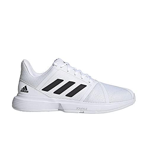 adidas CourtJam Bounce M, Zapatillas Deportivas Hombre, FTWBLA/NEGBÁS/Plamet, 43 1/3 EU
