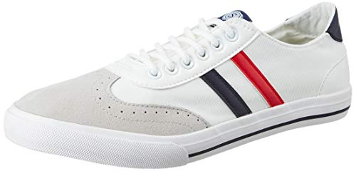 Amazon Brand - Symbol Men's Whitey Stripe Sneakers-9 UK/India (43 EU)(AZ-SH-05A)
