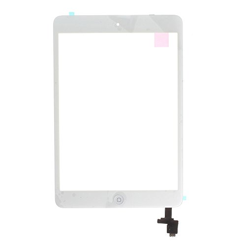 MOVILSTORE Touch Screen Digitizer Compatible with Apple iPad Mini Compatible with Apple iPad Mini 2 White