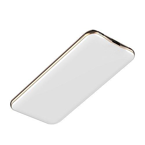 Carregador Portátil Universal, 15.000mAh, 1 porta USB-C (tipo C) e 1 porta USB, Leds indicativos de carga, Branco Brilhante, PB15000CW, Geonav