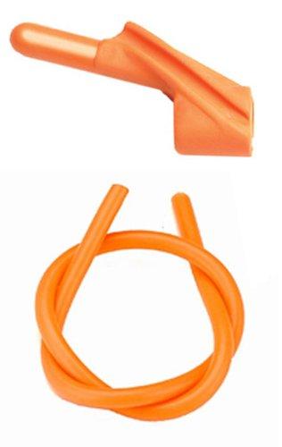 Pine Ridge Archery Nitro Peep Sight, Orange, 1/4-Inch