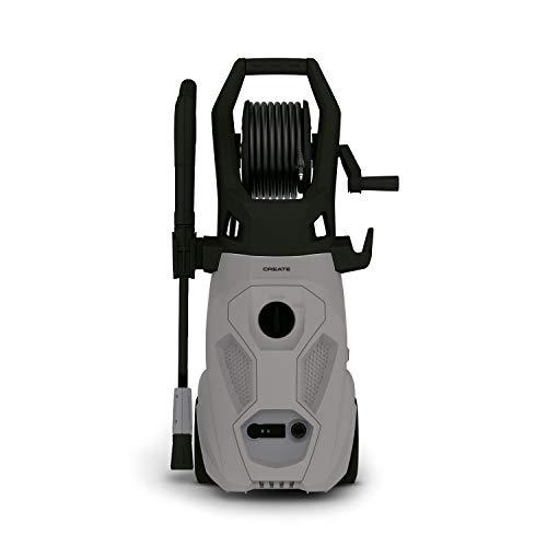 CREATE JET WASHER - Hidrolimpiadora de Alta Presión, 2200W, Potente, Portátil, Especial para exteriores y vehículos, Potente, Caudal 450L/h, 170 bares ( 5 accesorios)