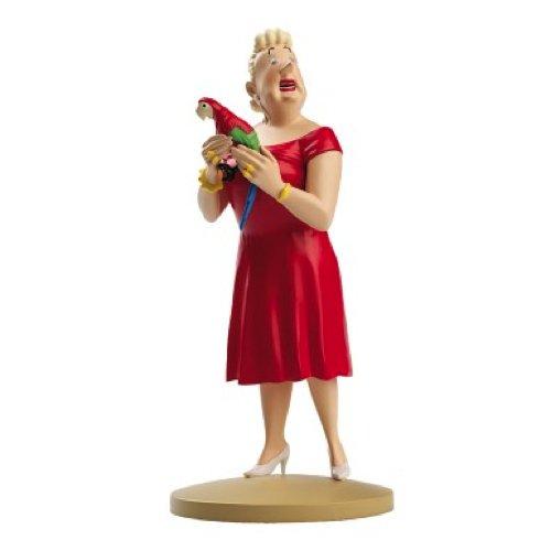 Figura de colección Tintín Castafiore papagayo 13cm Moulinsart 42185 (2014)