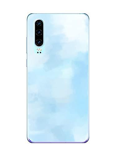 Oihxse Funda Huawei Honor V10 Lite/8X, Ultra Delgado Transparente TPU Silicona Case Suave Claro Elegante Creativa Patrón Bumper Carcasa Anti-Arañazos Anti-Choque Protección Caso Cover (A8)