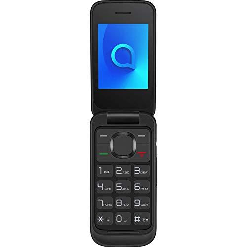Alcatel 2053D, Teléfono Móvil Dual SIM de 2.4' (2G, RAM de 4 MB, Cámara VGA de 1.3 MP), Bluetooth, Negro