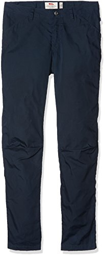 FJÄLLRÄVEN W High Coast Trousers Blau, Damen G-1000 Hose, Größe 46 - Farbe Navy