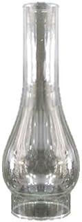 Tulipa de cristal quinqué transparente con boca de 68 mm LB
