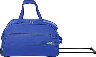Safari LIRA 65 RDFL Duffel Strolley Bag  (Blue)