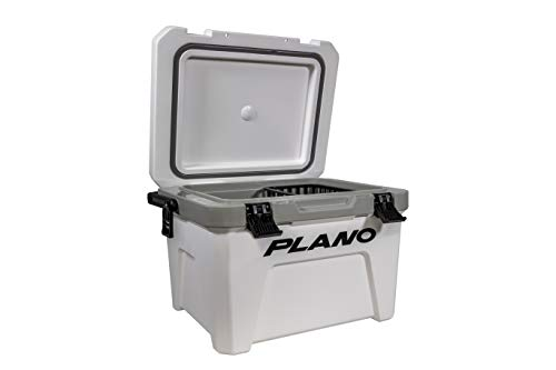 Plano Frost Cooler 21-Quart Capacity   Heavy-Duty Insulated Cooler Keeps Ice Up to 5 Days   for Tailgating, Camping and Outdoor Activities