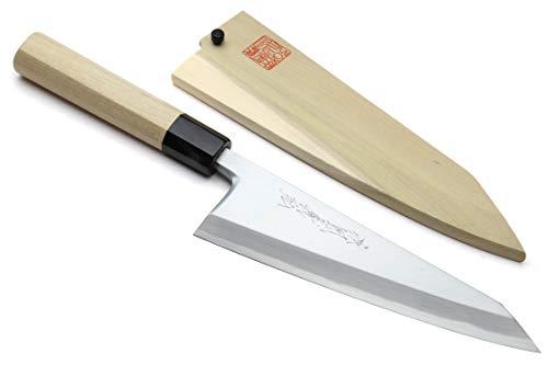 Yoshihiro Hongasumi White Steel #2 Garasuki Traditional Japanese Poultry Boning Knife (7'' (180mm))