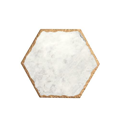 TYUTYU Plateau marbre Stockage rétro Bijoux Plaque...