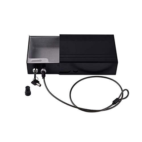 SMLZV Cajas fuertes, Ampliación de joyería Cajas fuertes-Secure Lock & Safe Paragon Cash Box con bandeja de dinero y la llave de cerradura de seguridad portátil de seguridad de aleación de aluminio Ca