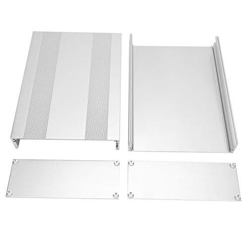 YYRL Caja de enfriamiento de Aluminio Caja de enfriamiento de Instrumentos de Caja de Aluminio Caja de Proyecto electrónico 54 * 145 * 200 mm