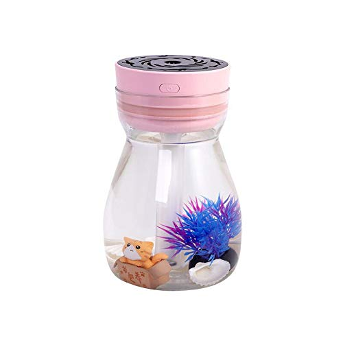 Mini Air Aroma Landscape Humidifiers Bedroom Kids Aromatherapy Essential Oil Diffuser Ocean Decor...