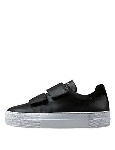 Jim Rickey Women's Universe Sneakers Leather Black in Size 41