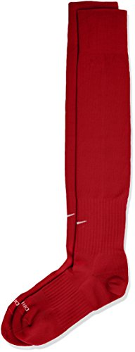 Nike SX5728 - Calze Unisex Adulto, Rosso (University Red/White), Medium