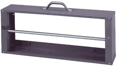 Durham 383 95 Gray Cold Rolled Steel Wire Spool Rack with Single Rod 26 1 8 Width x 10 3 8 Height product image