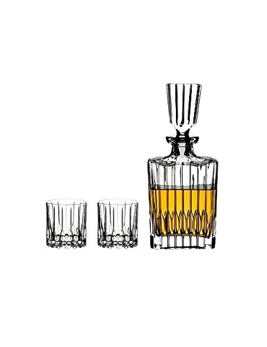 RIEDEL - Neats Spirits Set - Bar-Set/Whisky-Set - Kristallglas - Lieferumfang: 1 Karaffe / 2 Gläser