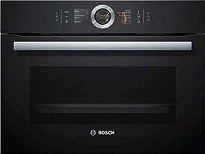 Bosch Serie 8 CSG656RB7 - Horno (Medio, Horno eléctrico, 47 L, 47 L, 30-250 °C, Negro)